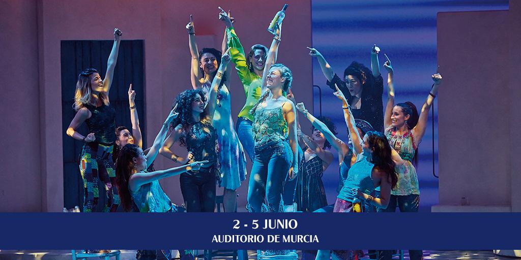 Musical Mamma Mia 2016 Murcia