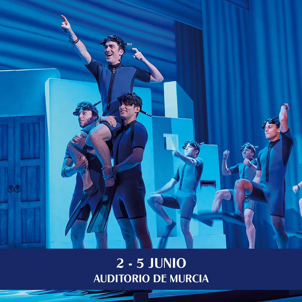 Musical Mamma Mia Murcia