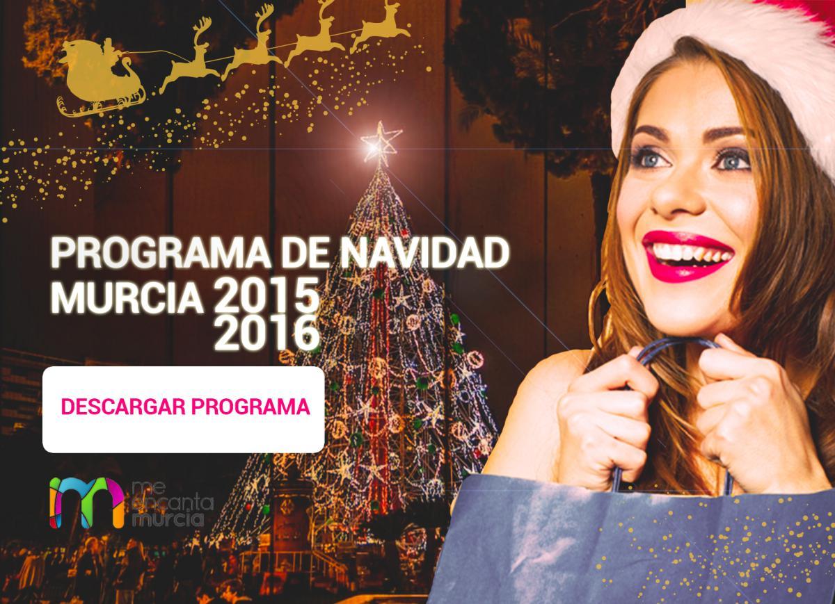 Programa fiestas de navidad de Murcia 2015 2016